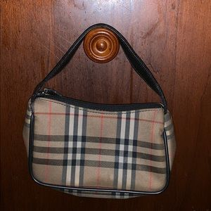 Vintage Authentic Burberry Mini Bag